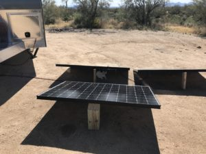 Portable Solar Panels on the Ground