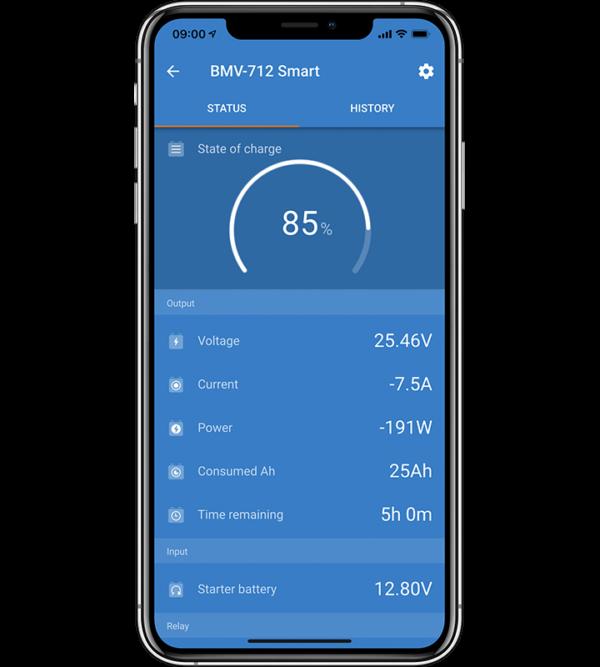 BMV 712 App