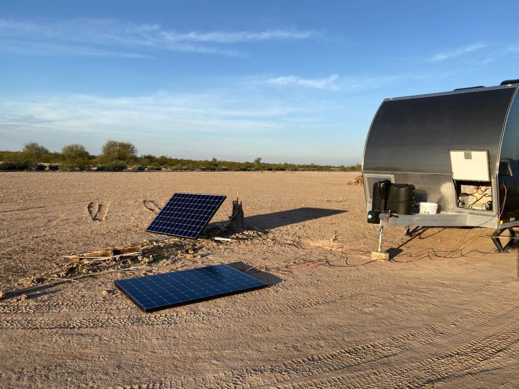Tilt n Track vs Flat Solar Panel