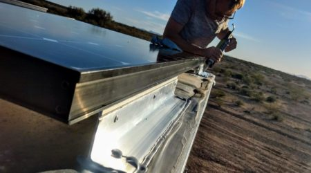 sealing solar panels with dicor