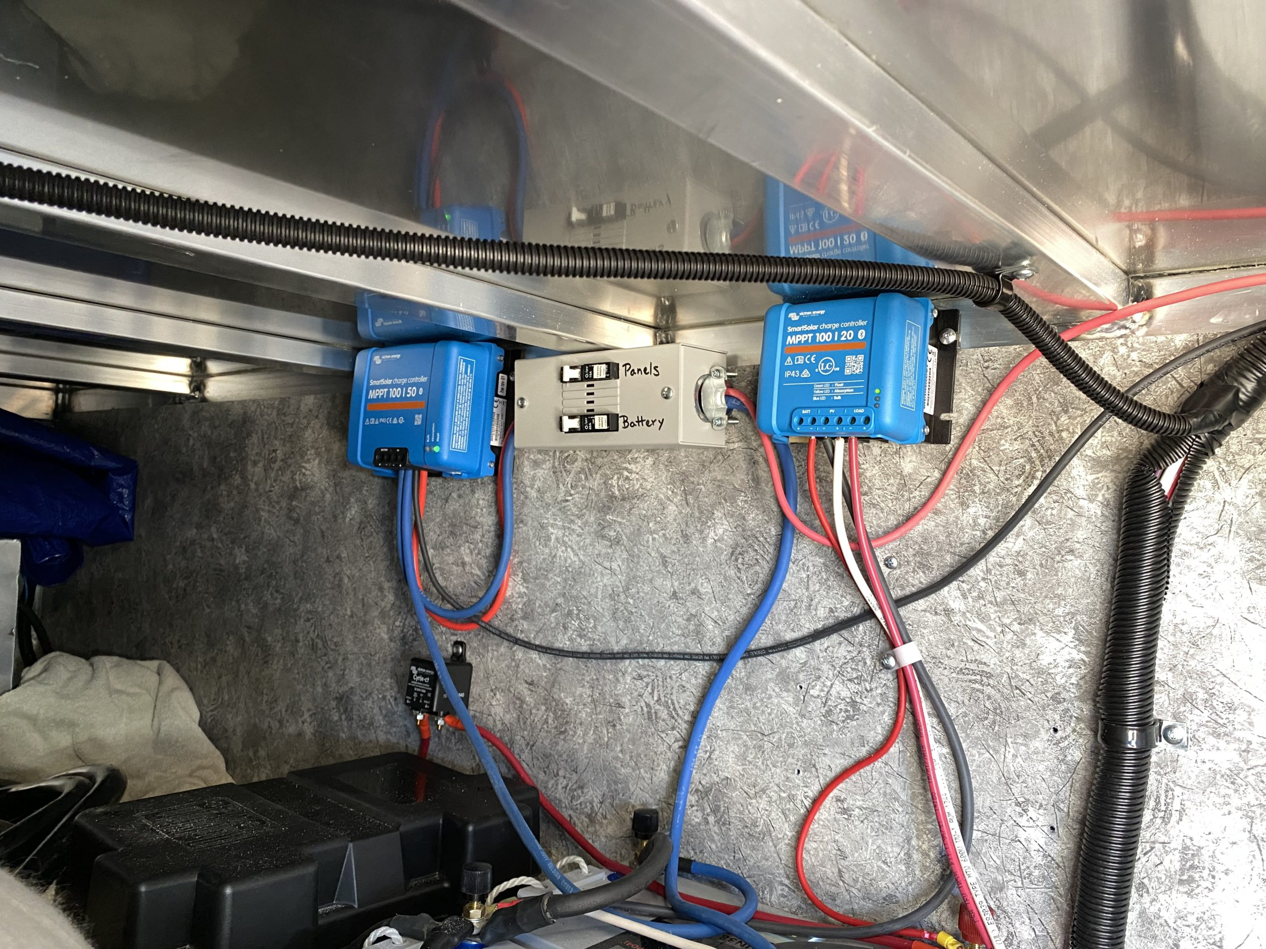 Recent Install 28'FB Charge Controllers