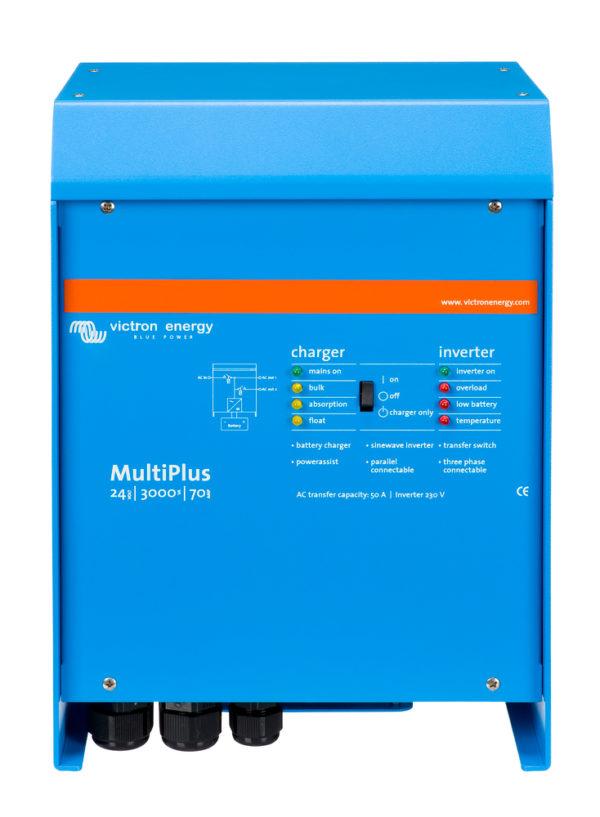 MultiPlus 24V 3000VA 70A 50A front