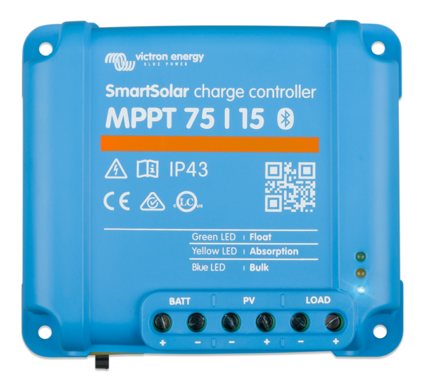SmartSolar charge controller MPPT 75/15 top